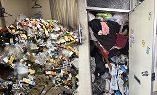 大量のゴミやゴミ屋敷の片づけの1例写真