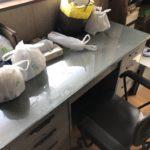 埼玉県さいたま市南区オフィスデスクとプリンターの回収(2)