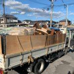 東京都葛飾区の家の建て直しで不用品回収