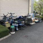 東京都豊島区オフィス移転に伴うオフィス家具、事務機器不用品回収(1)