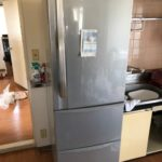 東京都八王子市別所 引越しで不要冷蔵庫処分(1)