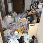東京都北区滝野川ゴミ屋敷のお片付け不用品回収(1)